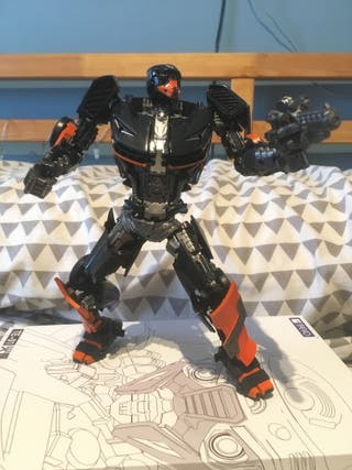 Transformers TFEVO Hot Fire (Hot Rod TLK)