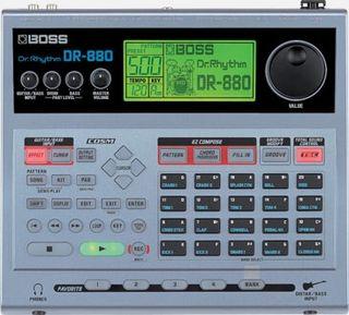 Caja de ritmos Boss dr880