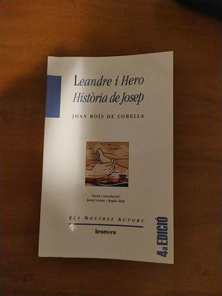 Leandre y Hero Història de Josep
