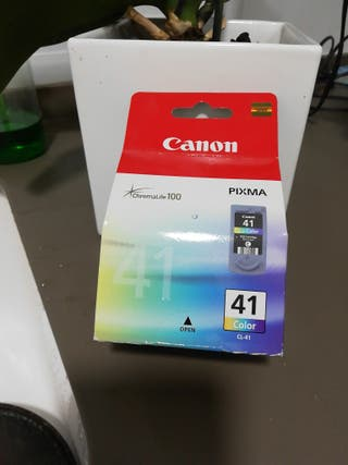 cartucho impresora Canon n°41