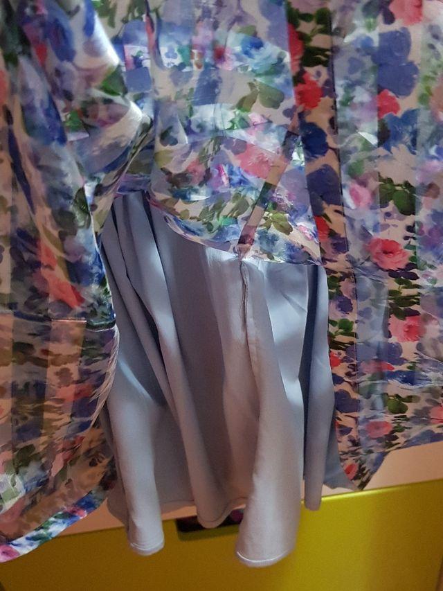 GUESS,vestido niña organza, original talla 7