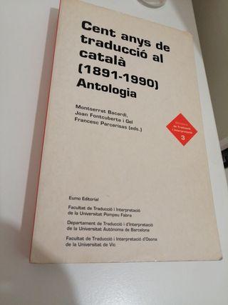 llibre d' història de la traducció a Catalunya