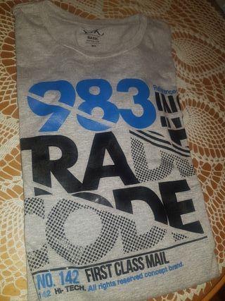 camiseta SIN USAR