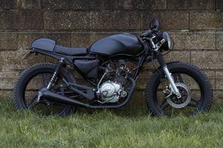 Transformo motos en cafe racer