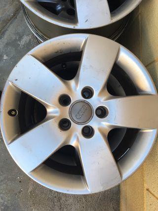 """Llantas Audi A6 16"""""""