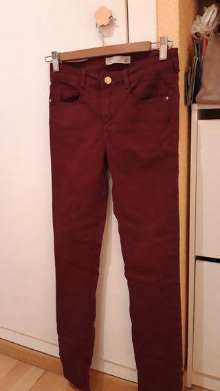 Pantalón pitillo Zara Mujer