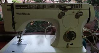 maquina de coser Wertheim electrica