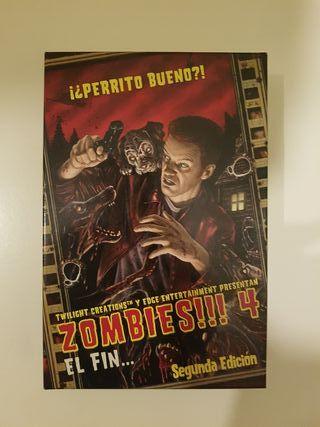 Juego de mesa. Zombies 4. El fin.