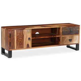 vidaXL Mueble para TV de madera maciza 244933