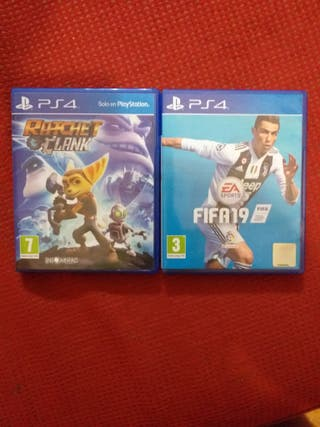 Fifa 19 y Ratchet and Clank