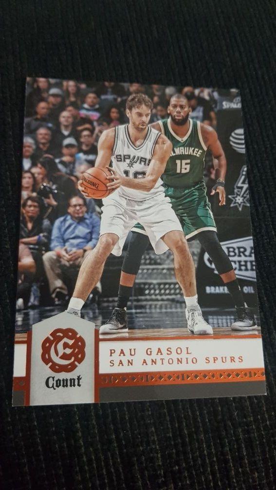 Lote 3 cards Pau Gasol 2003, 2005 y 2017