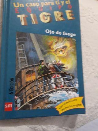 Libro infantil TIGER ojo de fuego.