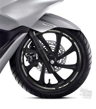Vinilos moto Honda PCX laminados