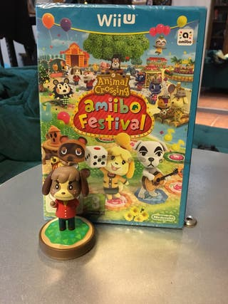 PRECINTADO Animal Crossing Amiibo Festival + Amiib