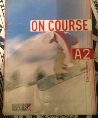 Libro inglés on course A2
