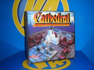 juego de mesa vintage CATHEDRAL -Cathedral 1986