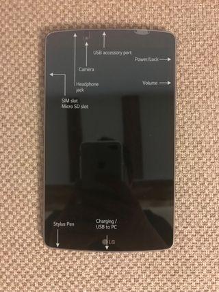 LG G Pad F V495 16GB 8.0(WIFI + LTE)Tablet Nuevo