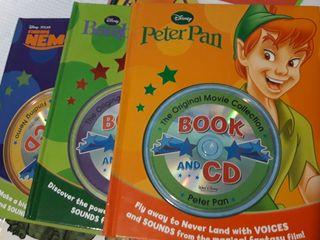 Libros de disney en en ingles más CD