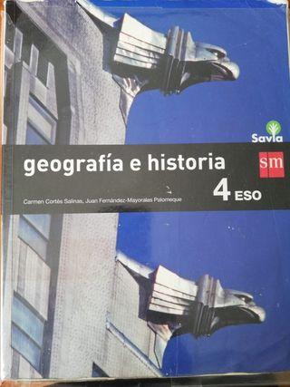 Libro Geografía e Historia de 4°ESO