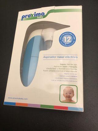 Aspirador nasal eléctrico bebé NUEVO