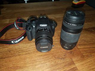 Cámara réflex Canon eos 1200D