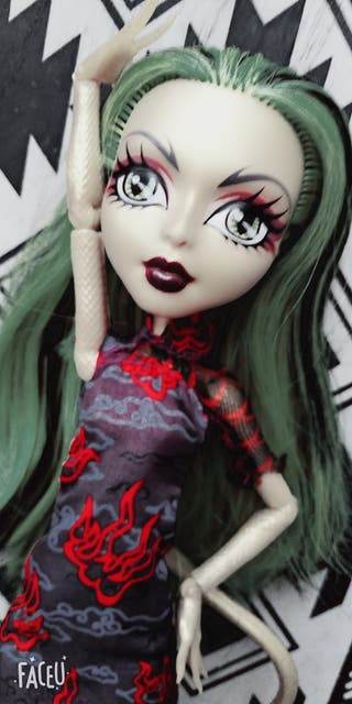 Monster High JaniFire Long