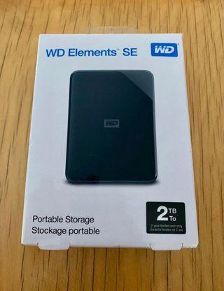 Disco duro western digital SE 2tb