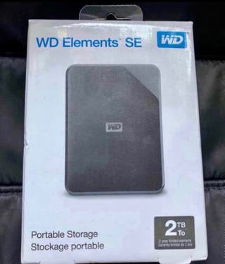 Disco duro wd elements SE 2tb