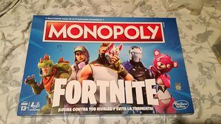 Juego de mesa, monopoly Fornite