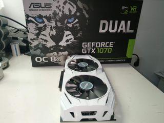 Grafica Asus Dual GeForce GTX 1070 OC 8GB GDDR5