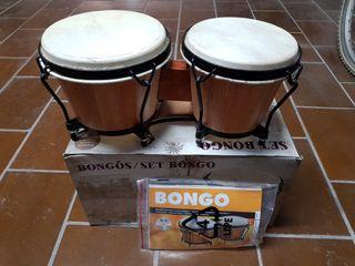 Set de bongos nuevos a estrenar