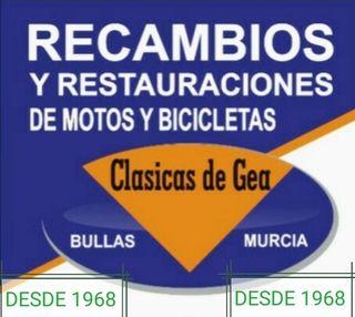 tienda de recambios para motos clásicas