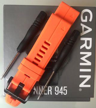 Correa nueva para Garmin. 22mm