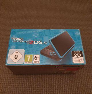 New Nintendo 2ds XL + complementos
