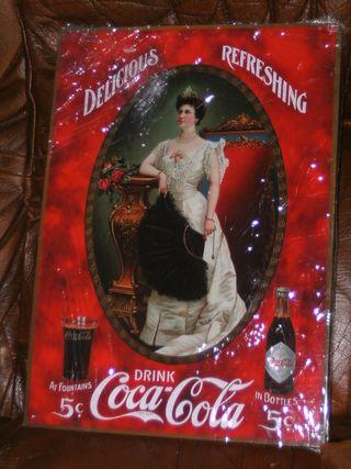 Chapas publicitarias de Coca Cola vintage