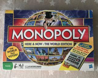 Monopoly electrónico edición mundial juego de mesa