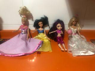 Pack Barbies y demás