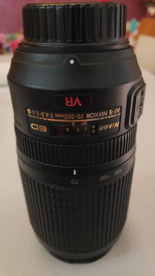 Nikon 70-300 VR ED averiado