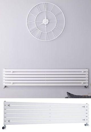 Radiador horizontal blanco