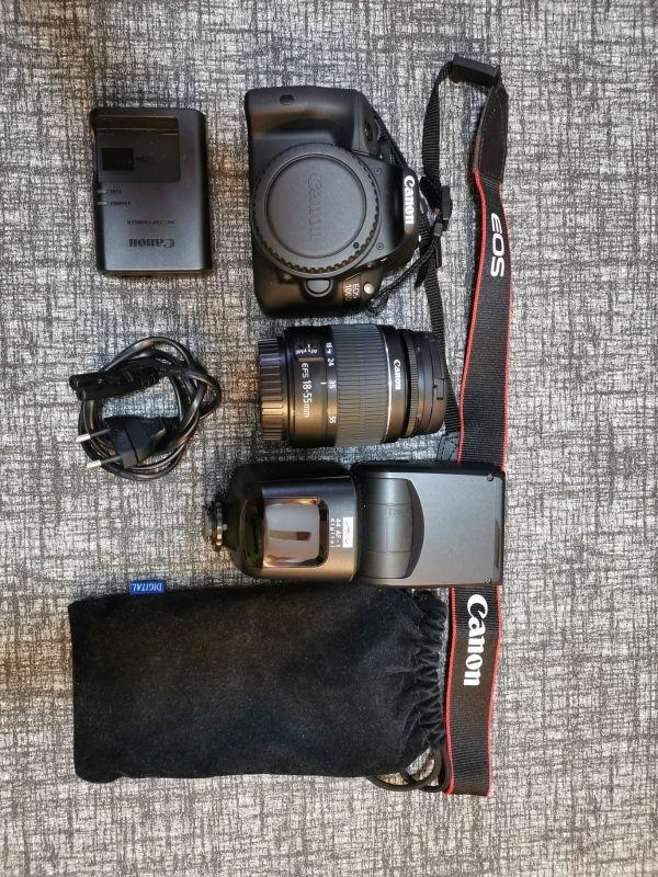 cámara reflex Canon eos 100d