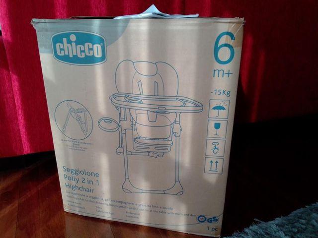 Trona Chicco 2 en 1 (+6 meses y +12 meses)