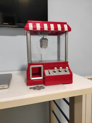 Mini maquina arcade/recreativa de gancho