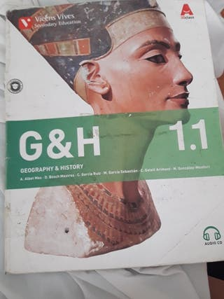 libro de geografía e historia bilingüe 1°eso
