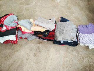 Lote de ropa variada