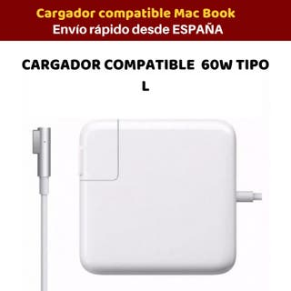 Cargador compatible con Mac Book pro 60w Tipo L