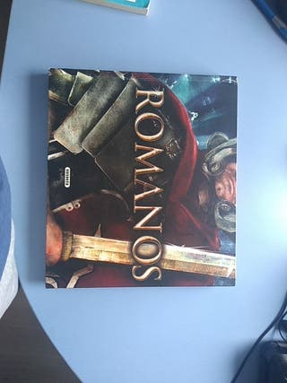 Libro desplegable. Historia Romanos