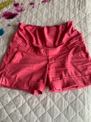 Pantalón corto premama talla 38