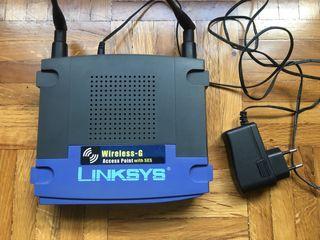 Punto de acceso wifi Linksys