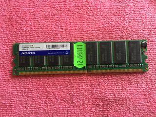 Memoria RAM ADATA DDR 400Mhz 1Gb