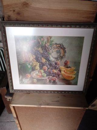 cuadro de frutas